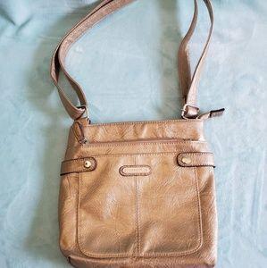 Rosetti Gold Crossbody Bag